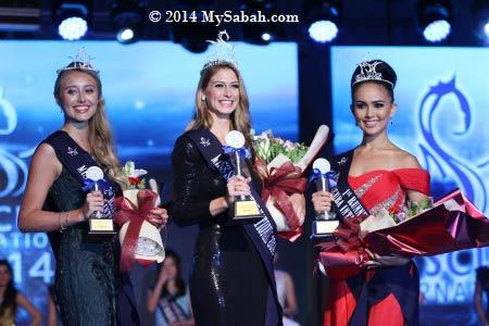 winners of Miss Scuba International 2014