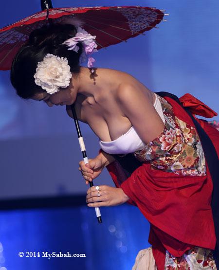 Miss Scuba Japan