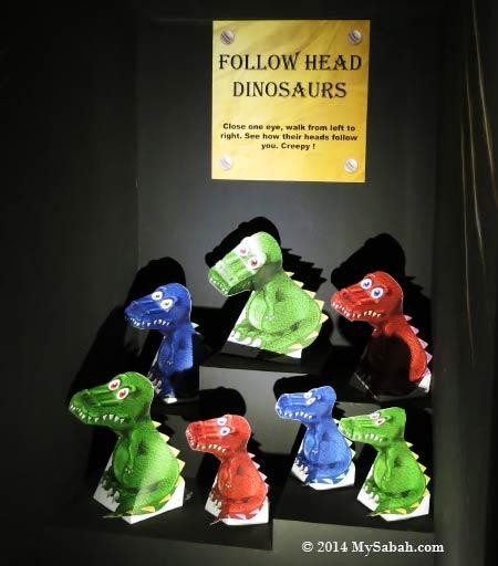 follow head dinosaurs