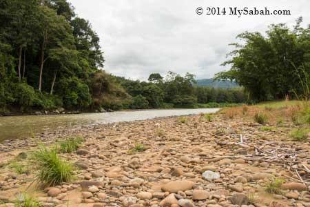 zipline over Kiulu River