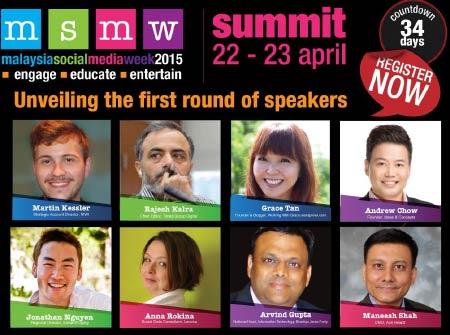 speakers of MSMW 2015