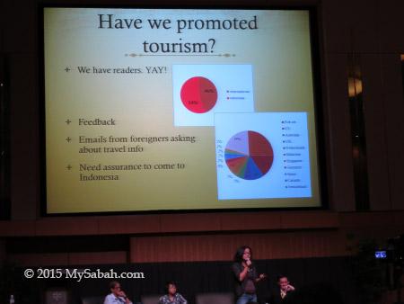 presentation slide by Murni Amalia Ridha / Mumun from Indonesia