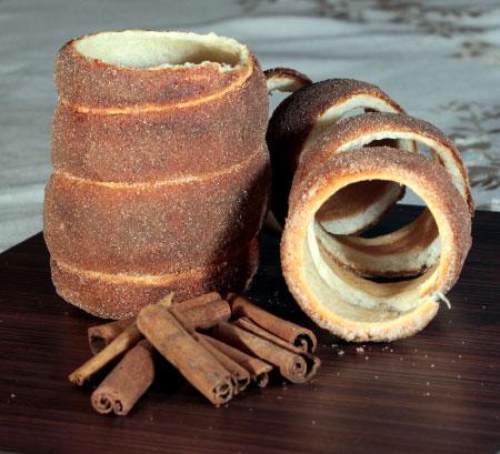 Cinnamon Sugar Kürtös Kalács