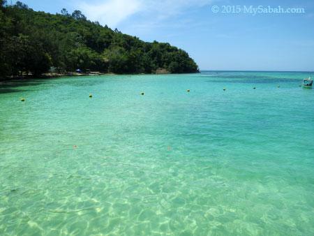 sea of Pulau Sapi