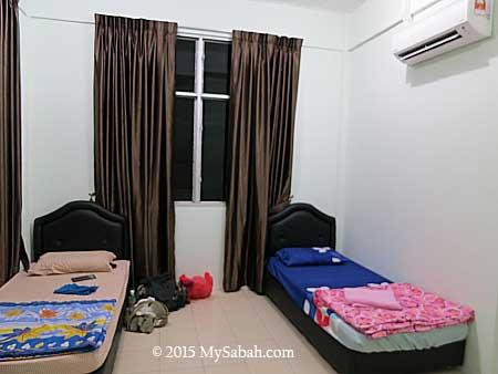 room of Deramakot Lodge