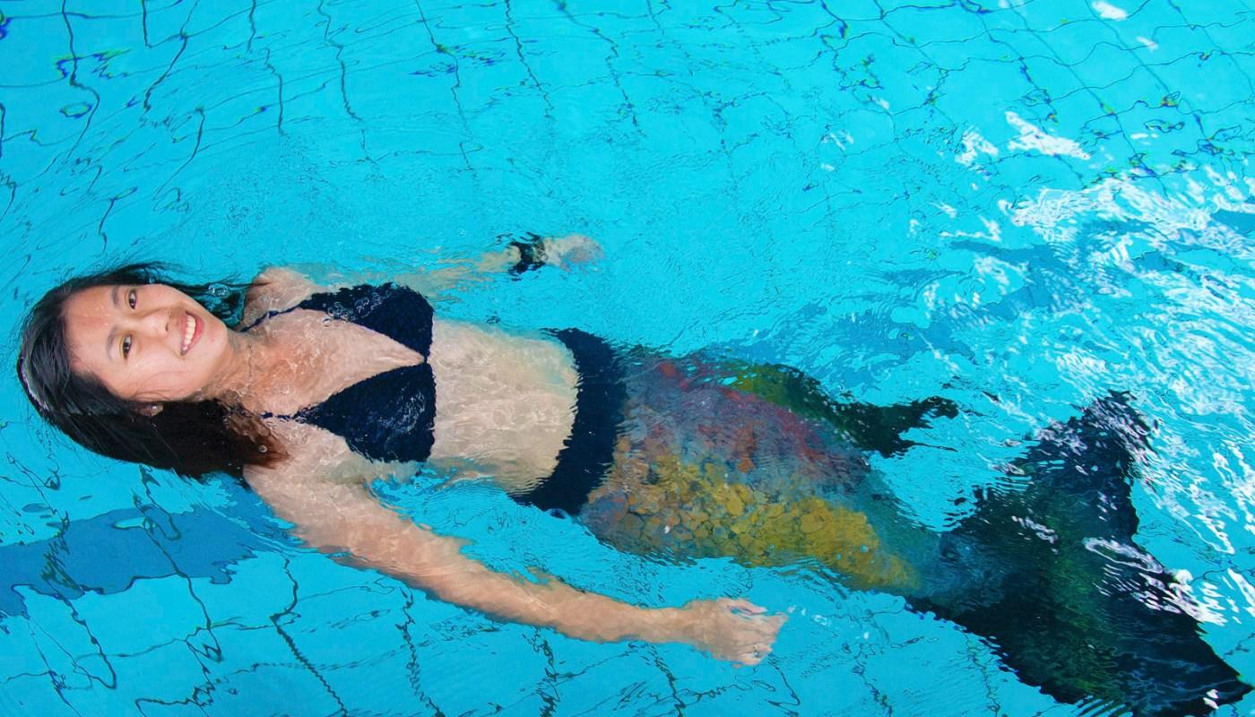 Sabah Mermaid Swimming Class