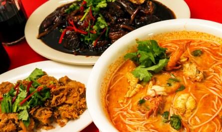 seafood of Mr. Fish Restaurant