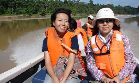 River cruise on Kinabatangan