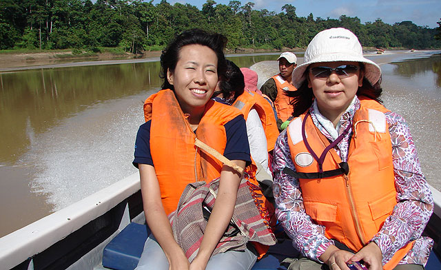 River cruise on Kinabatangan