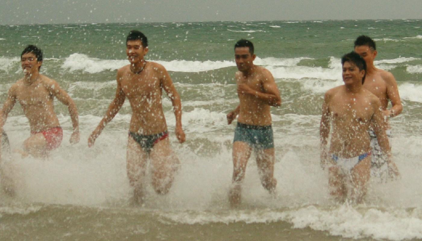 Modeling at Tanjung Aru