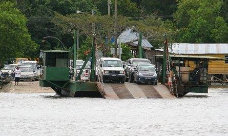 Kuala Penyu ferry