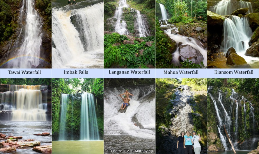 Top 10 Waterfalls of Sabah