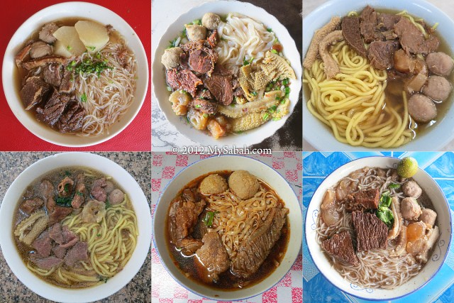 The best Ngiu Chap (Beef Noodle) of Sabah