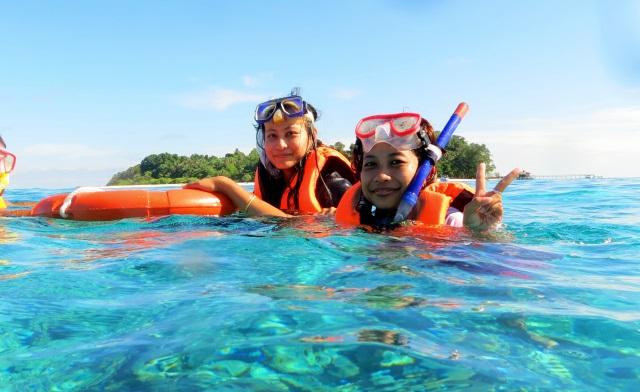 Snorkeling in Sipadan Island