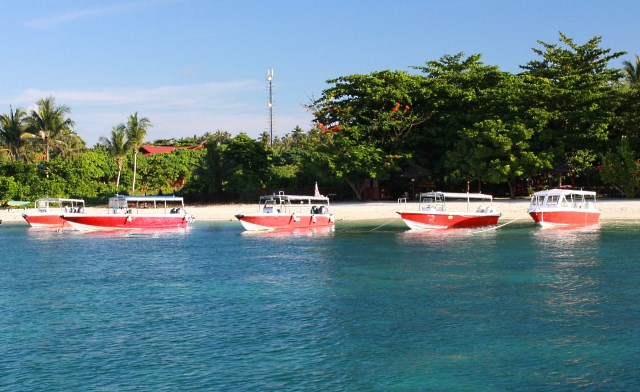 Accommodation on Mabul Island (Pulau Mabul)