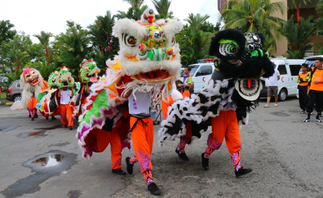 "Lion, Dragon, Unicorn and ""Horse"" Dances of Sabah, Malaysia"