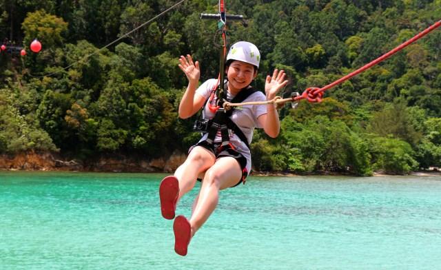 Coral Flyer zipline