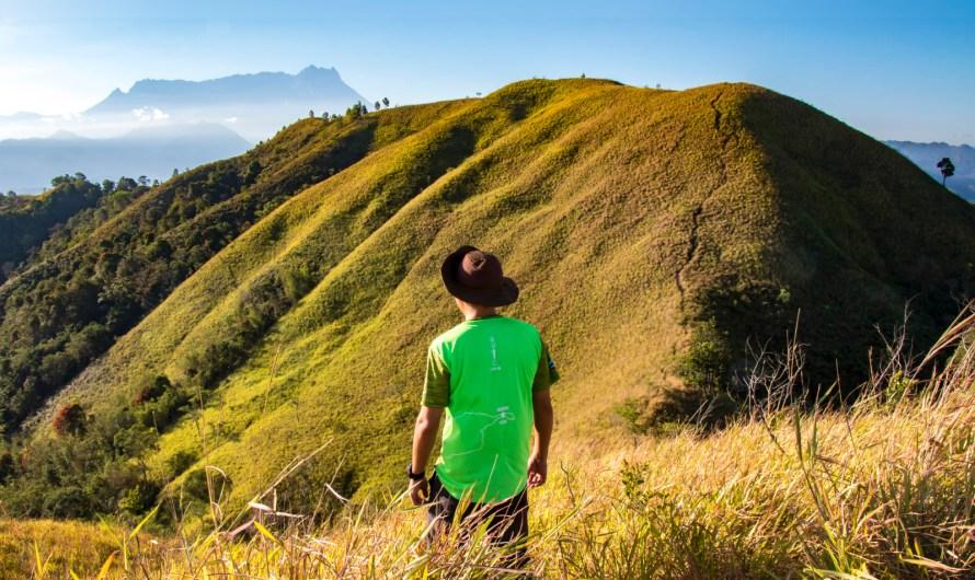 Climbing Bukit Bongol (Bongol Hill) of Kota Belud