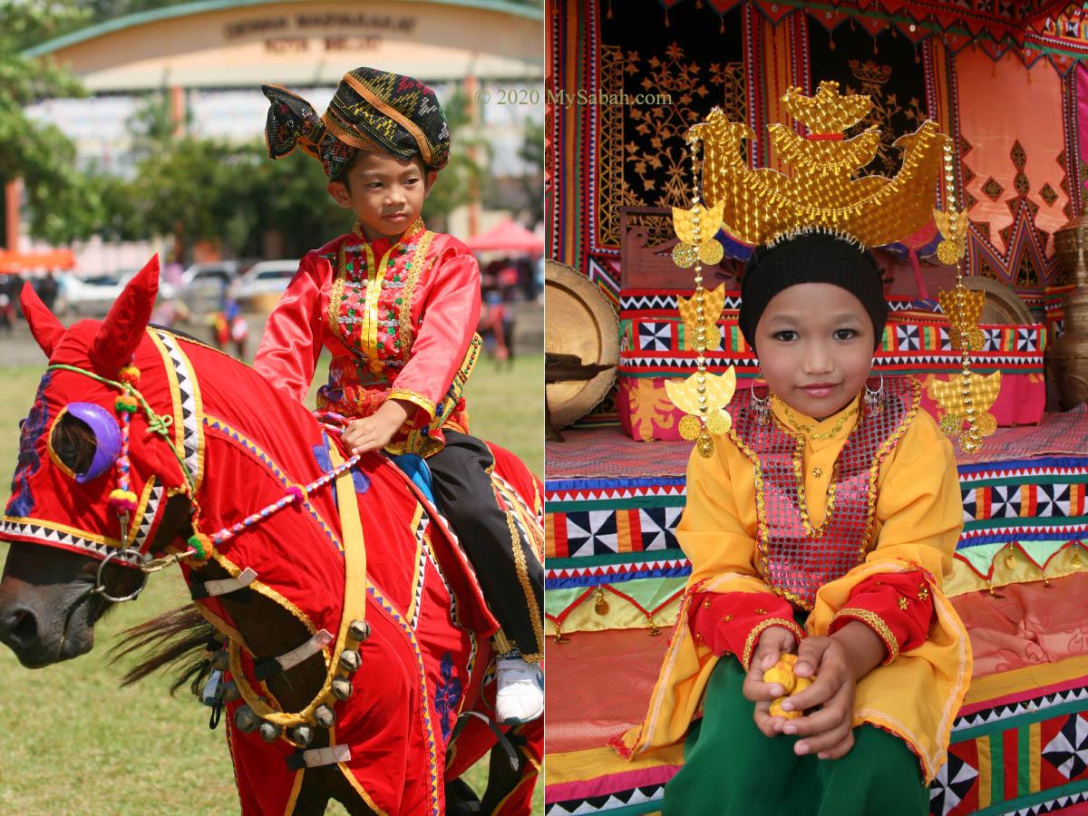 Bajau kids from Kota Belud