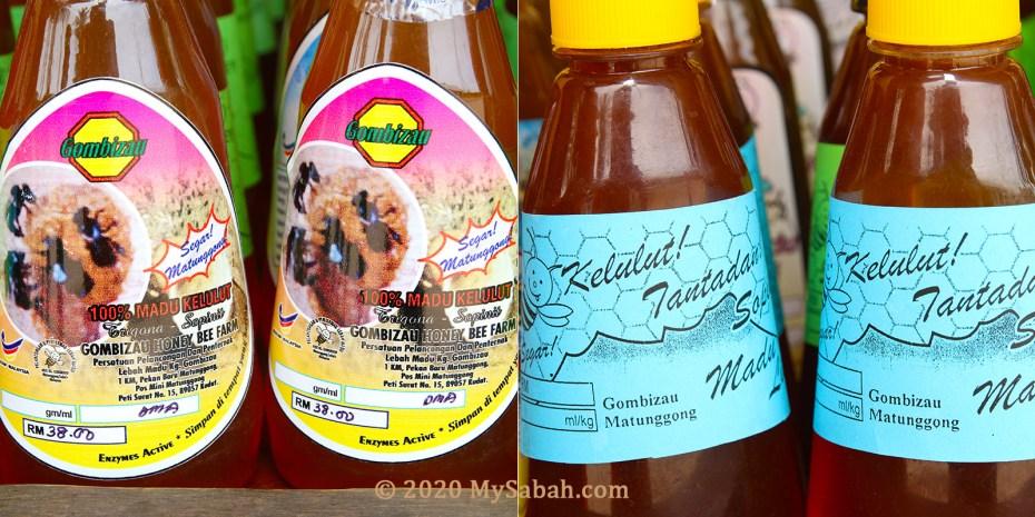 Stingless bee (kelulut) honey for sale