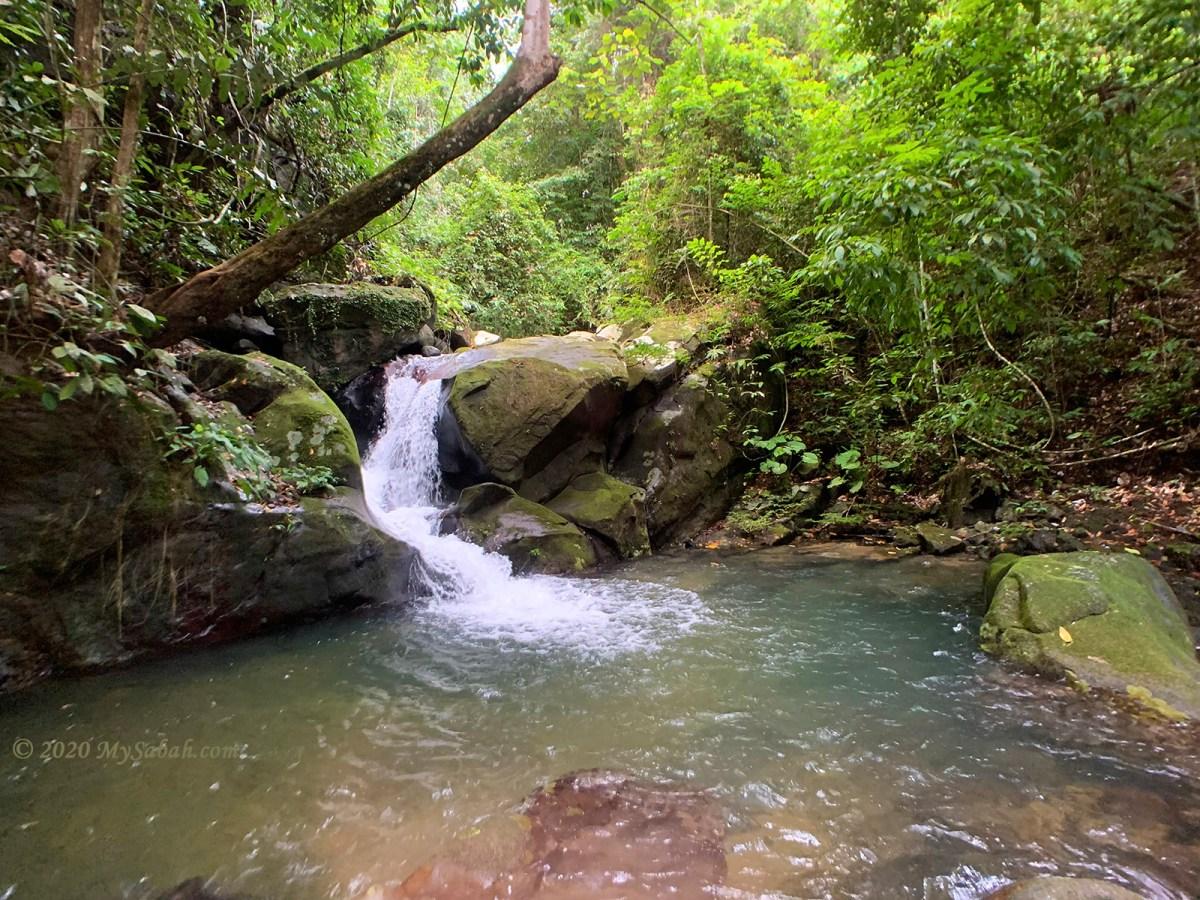 Ronggu Waterfall of Maranggoi River