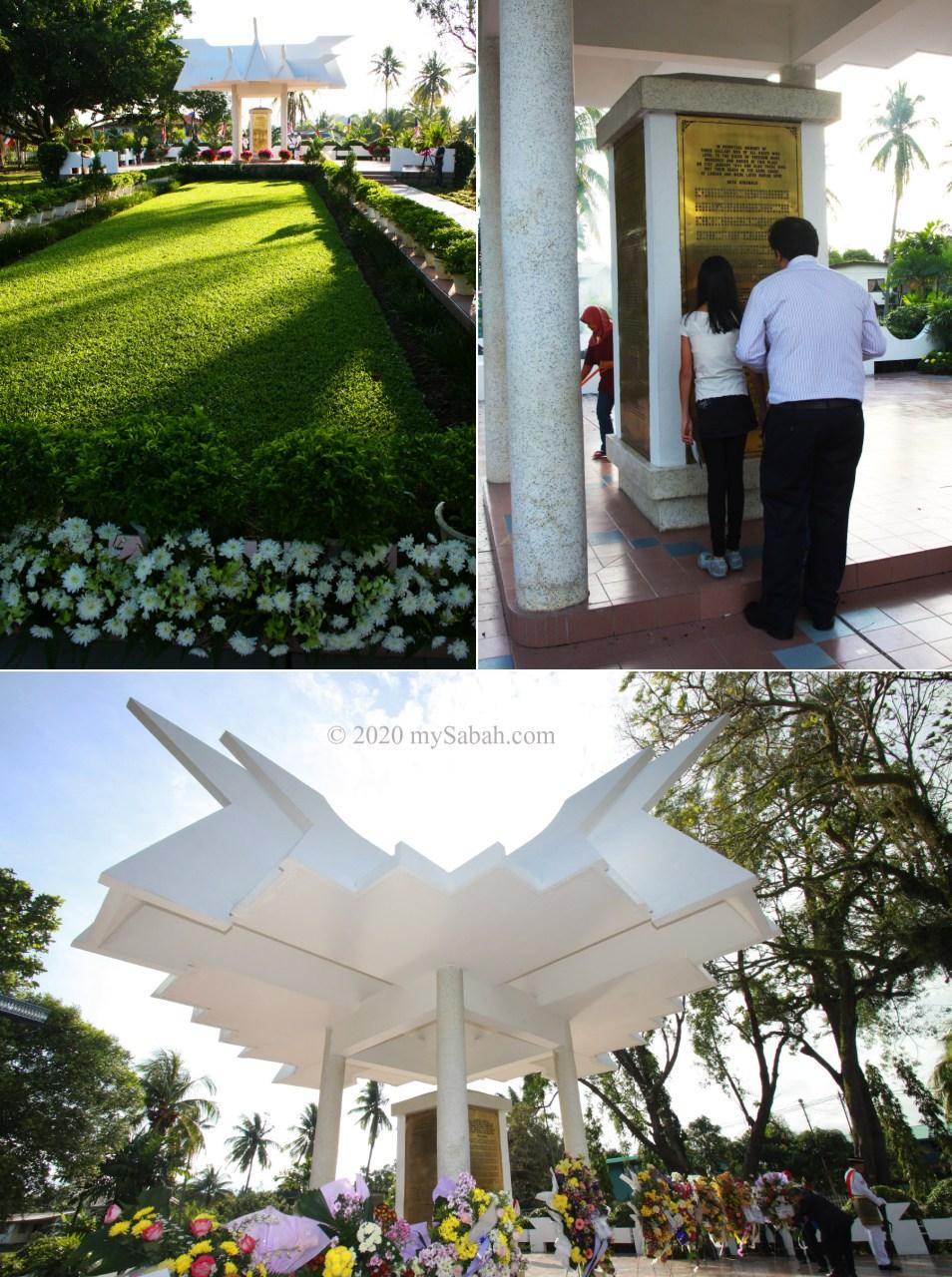 Petagas War Memorial Garden