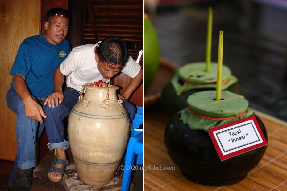 Tapai and jars