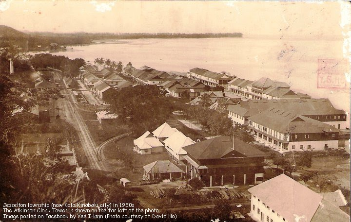 Photo of Jesselton (now Kota Kinabalu) in 1930s