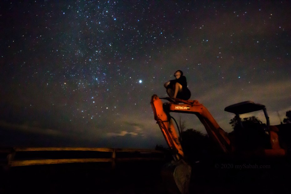 Looking at the stars of Sugud
