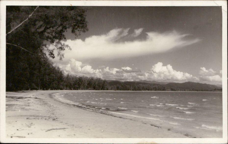 Photo of Tanjung Aru Beach in 1950s