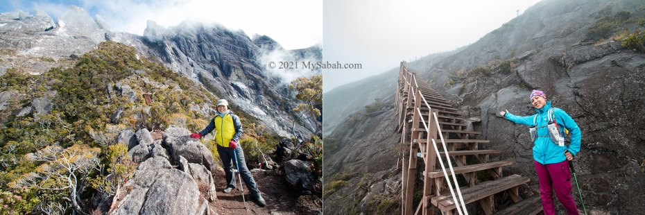 Ranau trail of Mount Kinabalu