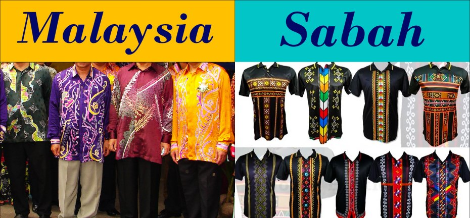 Traditional Wear of Malaysia and Sabah