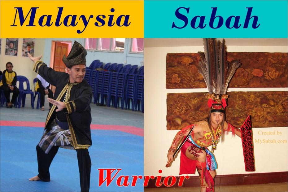 Malay vs Murut Warrior