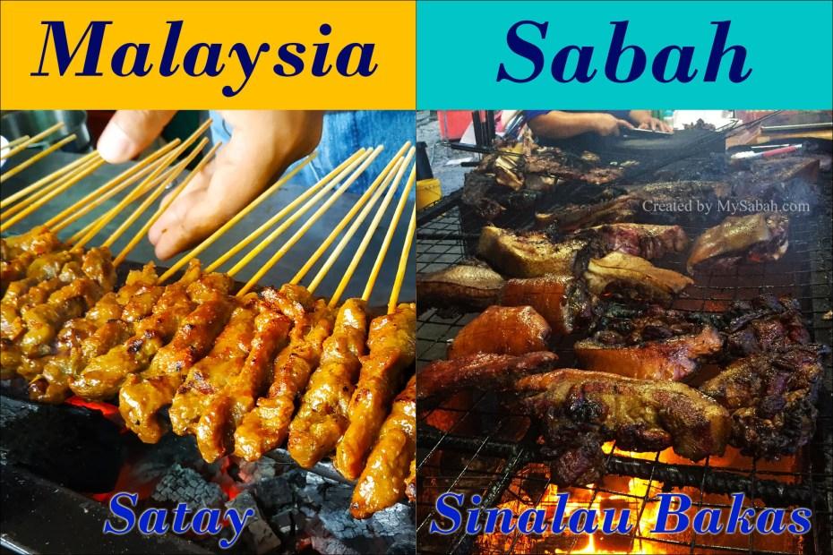 Satay vs Sinalau Bakas