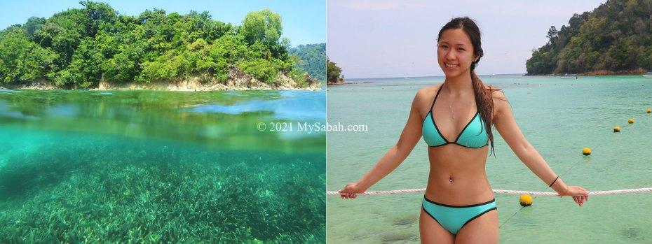 Seas of Sapi Island (Pulau Sapi)