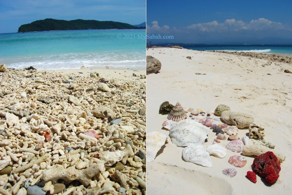Beach of Sulug Island (Pulau Sulug)