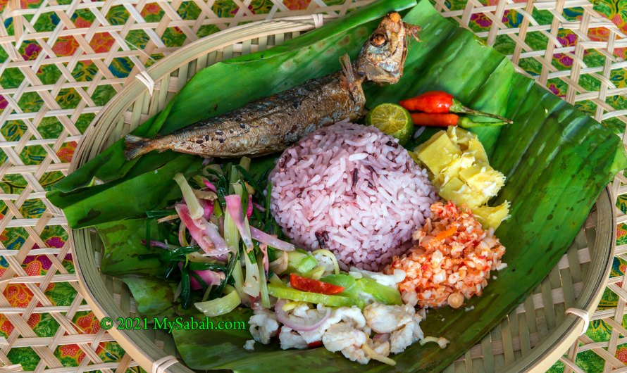 Linopot, the Traditional Leaf-wrapped Rice of Sabah