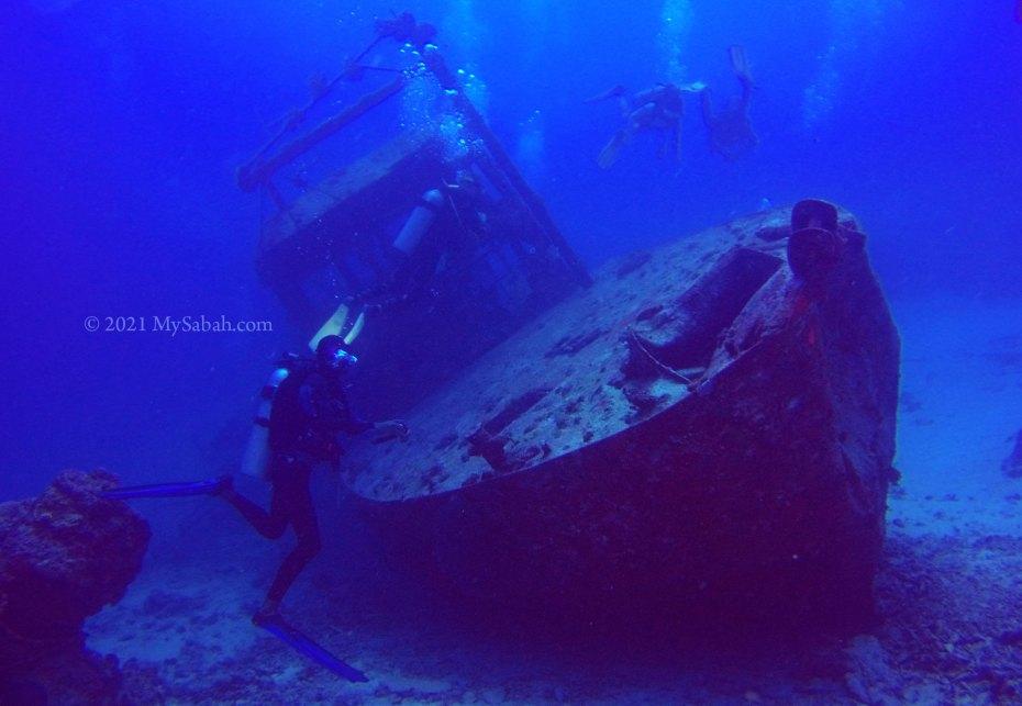 Mataking 1, the first underwater post box of Malaysia