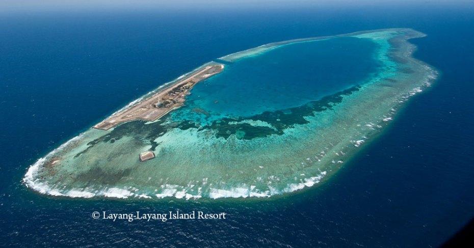 Layang-Layang Island of Malaysia