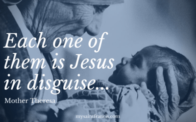 Jesus in Disguise …