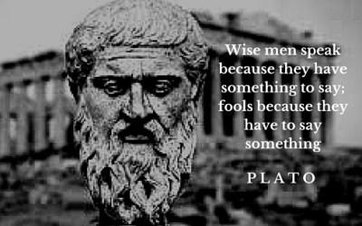 Leaders Speak Wisely …
