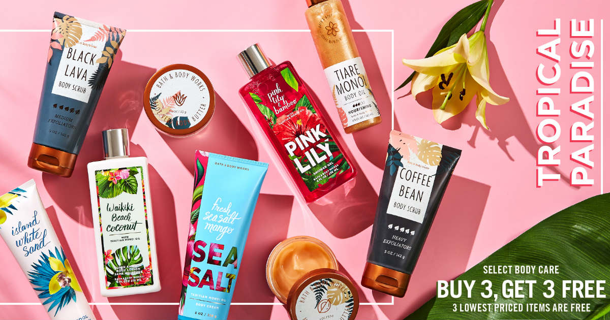Bath and Body Works deal