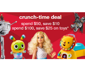 Savings on Toys at Target