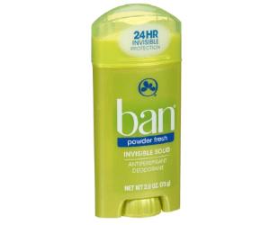 Ban Deodorant at Rite Aid