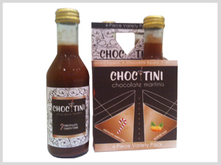 Choc-Tini Package Design