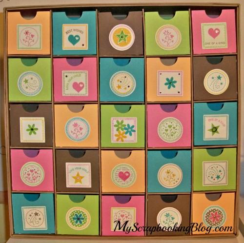 Advent Calendar to Jewelry Box by Wendy Kessler