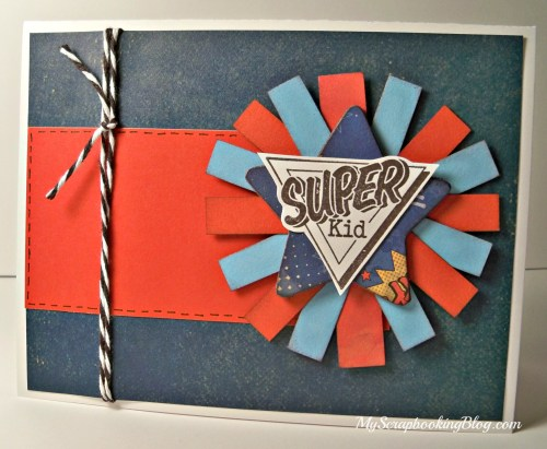 Super Kid card by Wendy Kessler