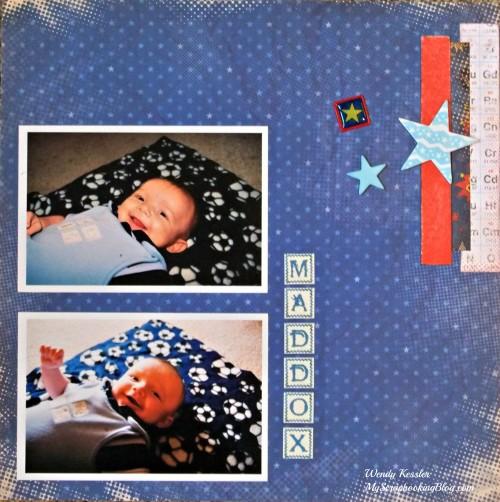 Maddox Layout by Wendy Kessler