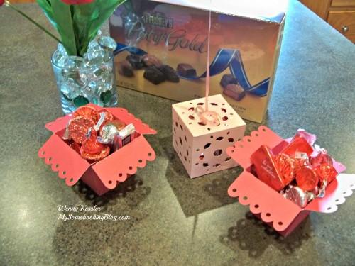 Valentine Boxes by Wendy Kessler