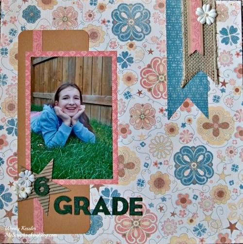 6th Grade Layout by Wendy Kessler